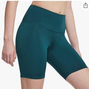 Tsla dark green high rise biker shorts size XXL